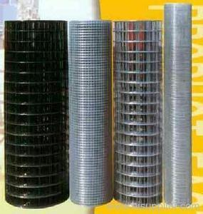 WEAVING WITH ELECTRIC GALVANIZED IRON WIRE