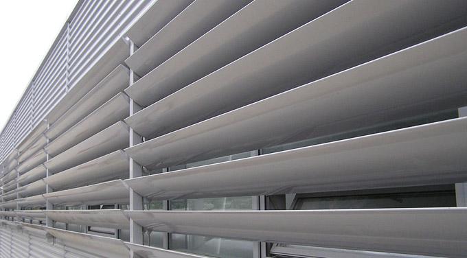 aluminum sun shade louver