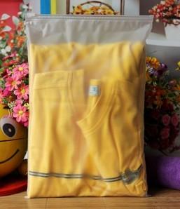 Matt Treatment Single Layer Zipper Closed Packing Bag