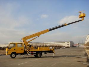 18m Telescopic boom aerial working platform
