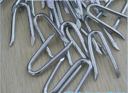 Smooth Shank Fence Staples/ Bright U Staple/Fence Staples u nails nails