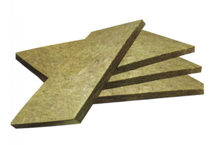 Heating Insulation and Fire-proof Rock Wool Board