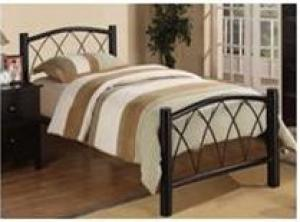 2014 Hot Sale Metal Single Bed/Metal Bed Frame CM-MB03