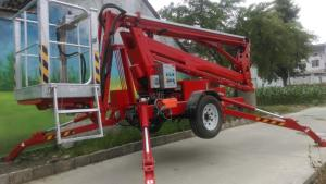 18M Trailer mounted platforms