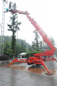 Crawler Mounted Platforms 23m