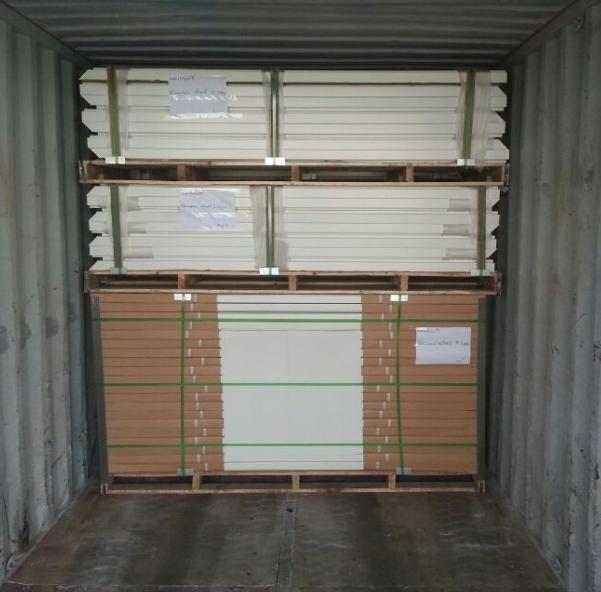 Powder Coating Steel Security Door Manufactory