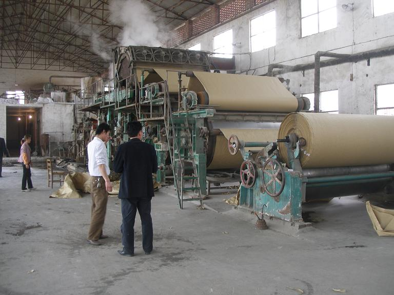 Kraft Paper Machine 1092-1575mm for Industry Using