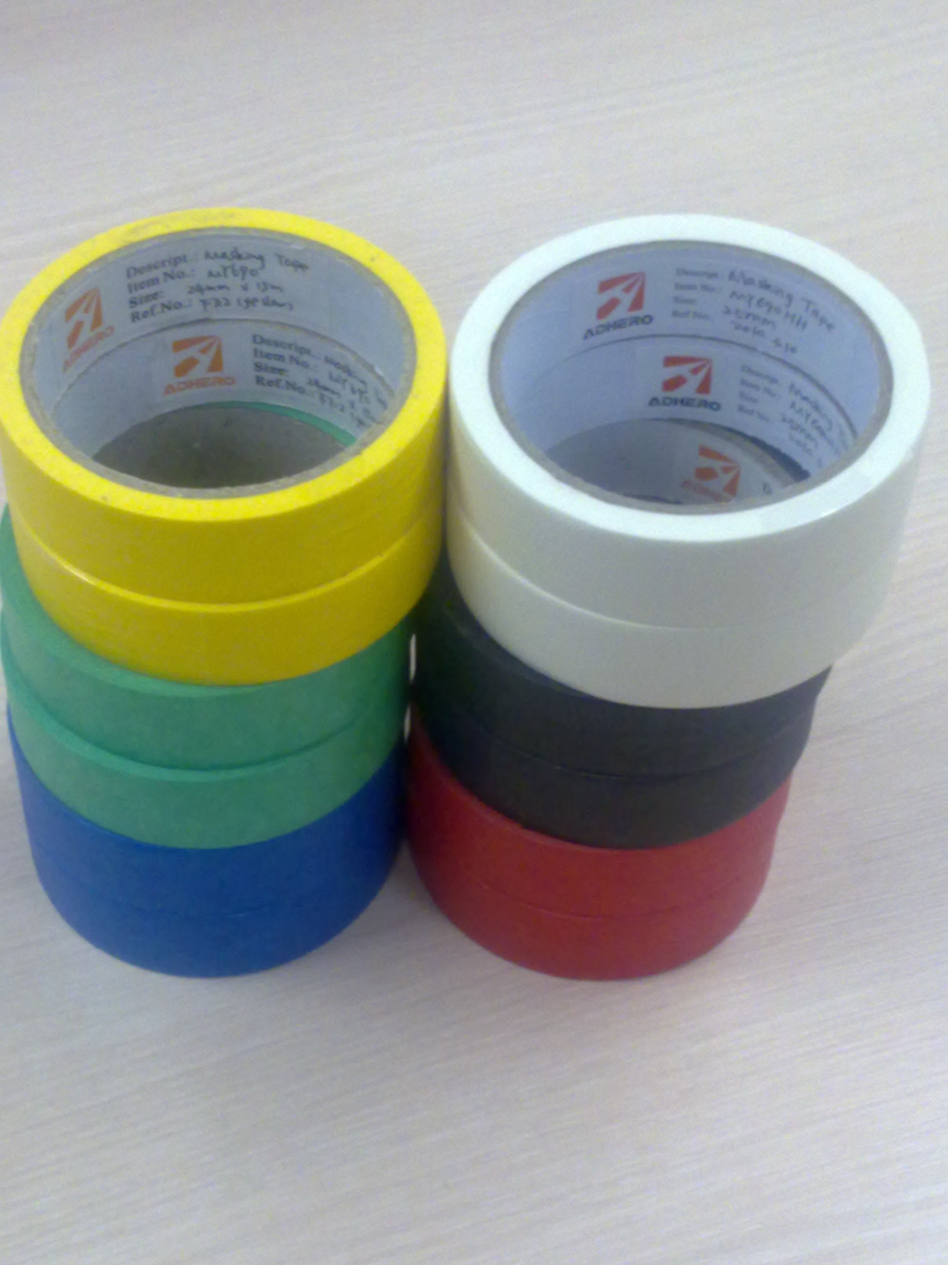 Masking Tape Various Colours With No Residue