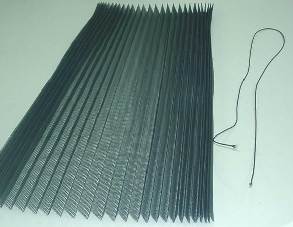 Polyester Pleated Screen Mesh High Qualtity Good Price