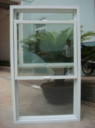 PVC Hung Window Factory for Village with American and Europe Style