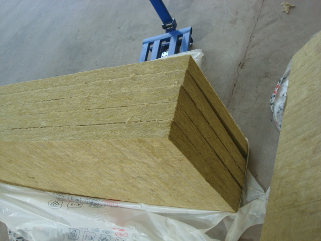 Buy real rockwool panel stone wool board rockwool blanket for Mineral wool board insulation price