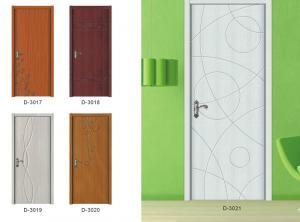 Pvc Sliding Door with Best Design and Double/Trial Glass