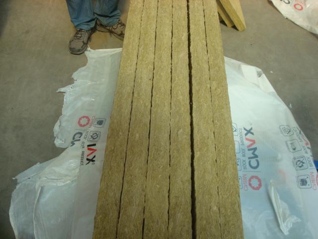 Rockwool Board Unfaced Rockwool Board Aluminium Foil Faced