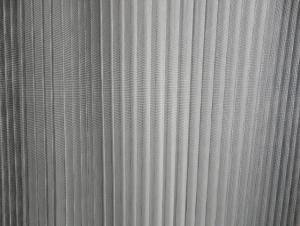 Pleated Screen Mesh Environmental Material