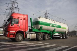 CIMC LINYU lifting tank semi trailer