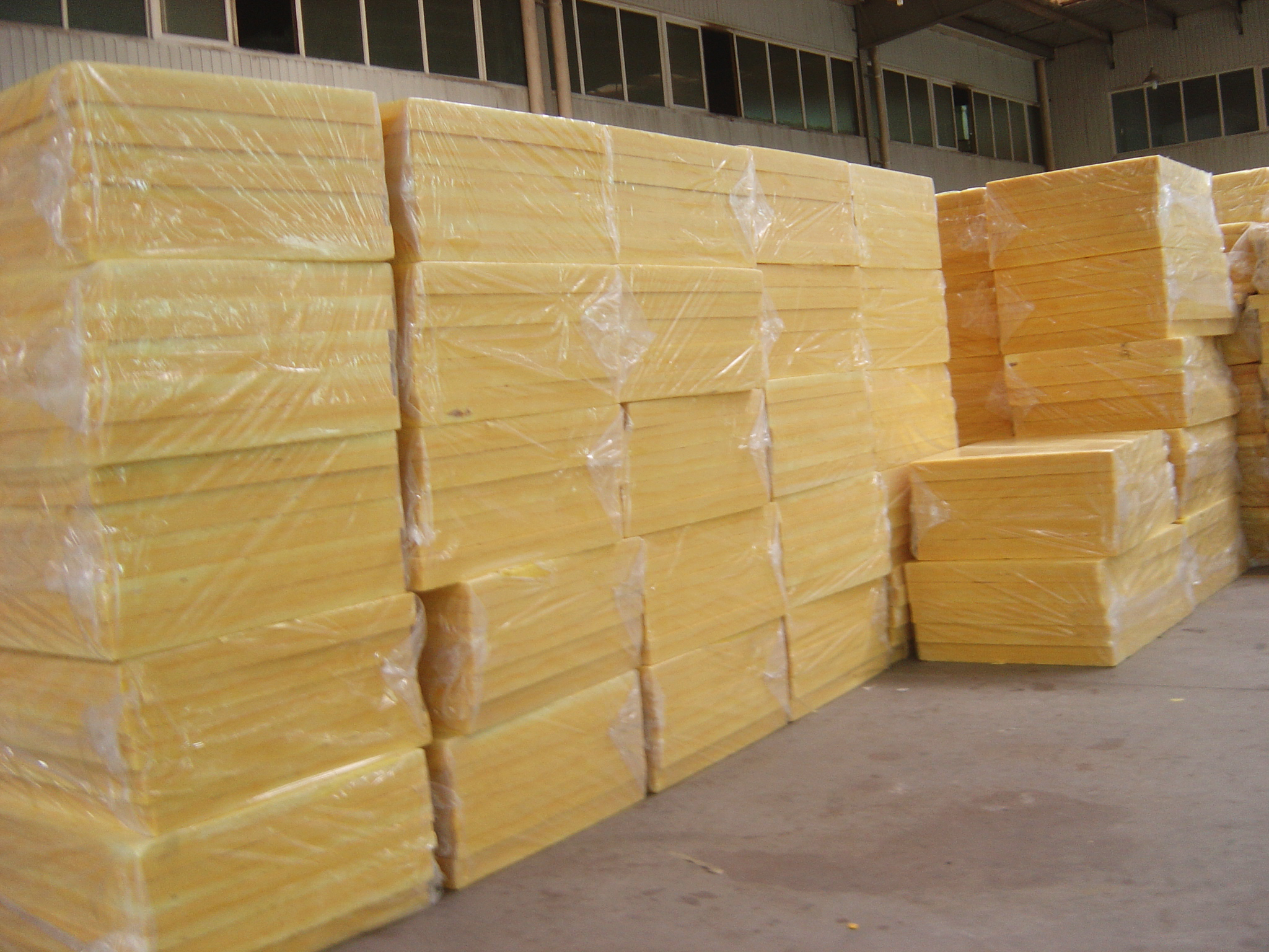 Buy glass wool board for thermal insulation price size for Glass fiber board insulation