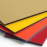 outdoor wall cladding facade PVDF alu aluminum composite boards acp