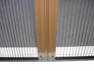 Pleated Screen Mesh Environmental Material