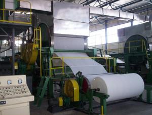Toilet Paper Making Machine Width Maxium 1092-2400mm