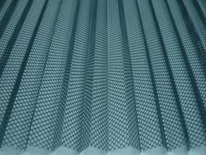 Hexagonal Polyester Pleated Screen Mesh High Quality Good Price