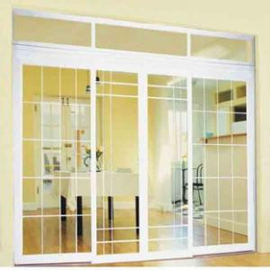 PVC and  UPVC Sliding Windows and Doors white colour