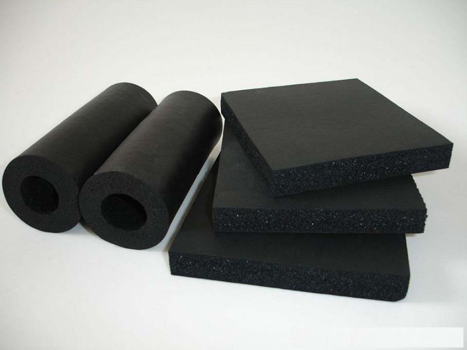 Construction Rubber Foam Insulation Material