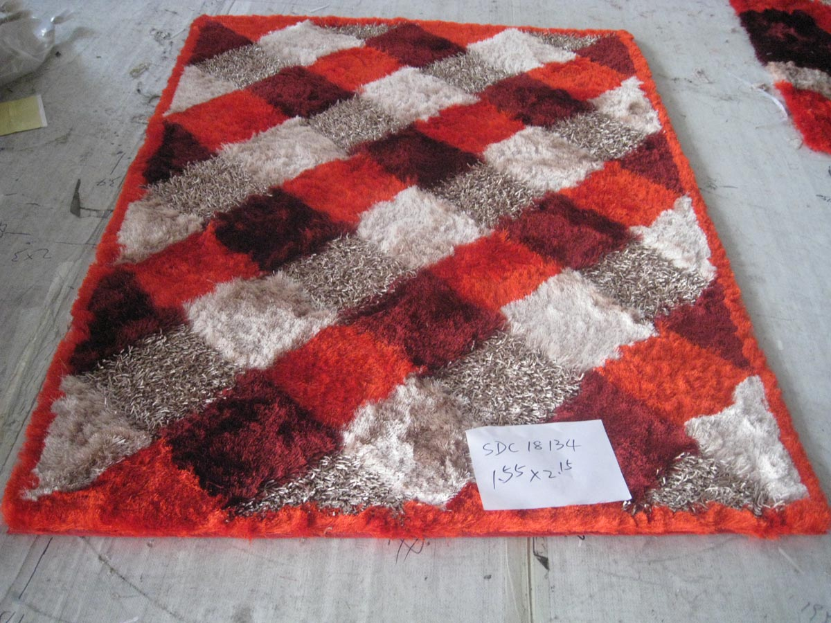 Chinese Polyester Silk  Floor Carpet