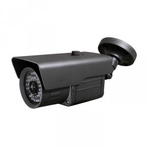 CCTV IR Waterproof Camera with 23pcs IR Leds and  20M IR Range, 3.6mm Lens and 3 Axis Cable Built in Bracket