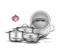 Stainless Steel Cookware with steamer