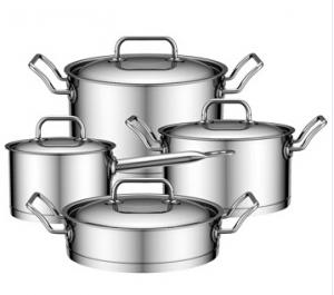 Stainless Steel Cookware with ss lid