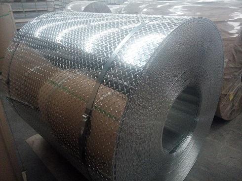 Pattern aluminum coil