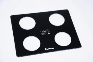 black cookertop tempered glass