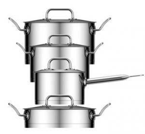 Stainless Steel Cookware straight