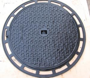 Manhole Cover B125 Cast Iron Ductile Iron