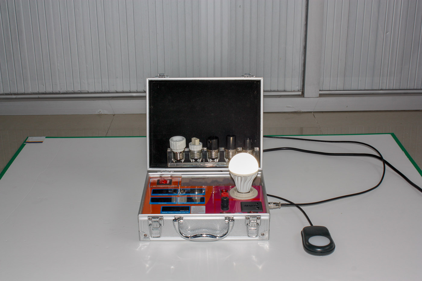 Lux meter led lamp demo case CCT meter LT-SM921