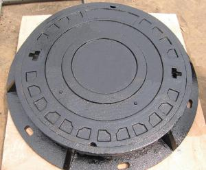 Manhole Cover C250 Ductile Casting Iron Construction Used