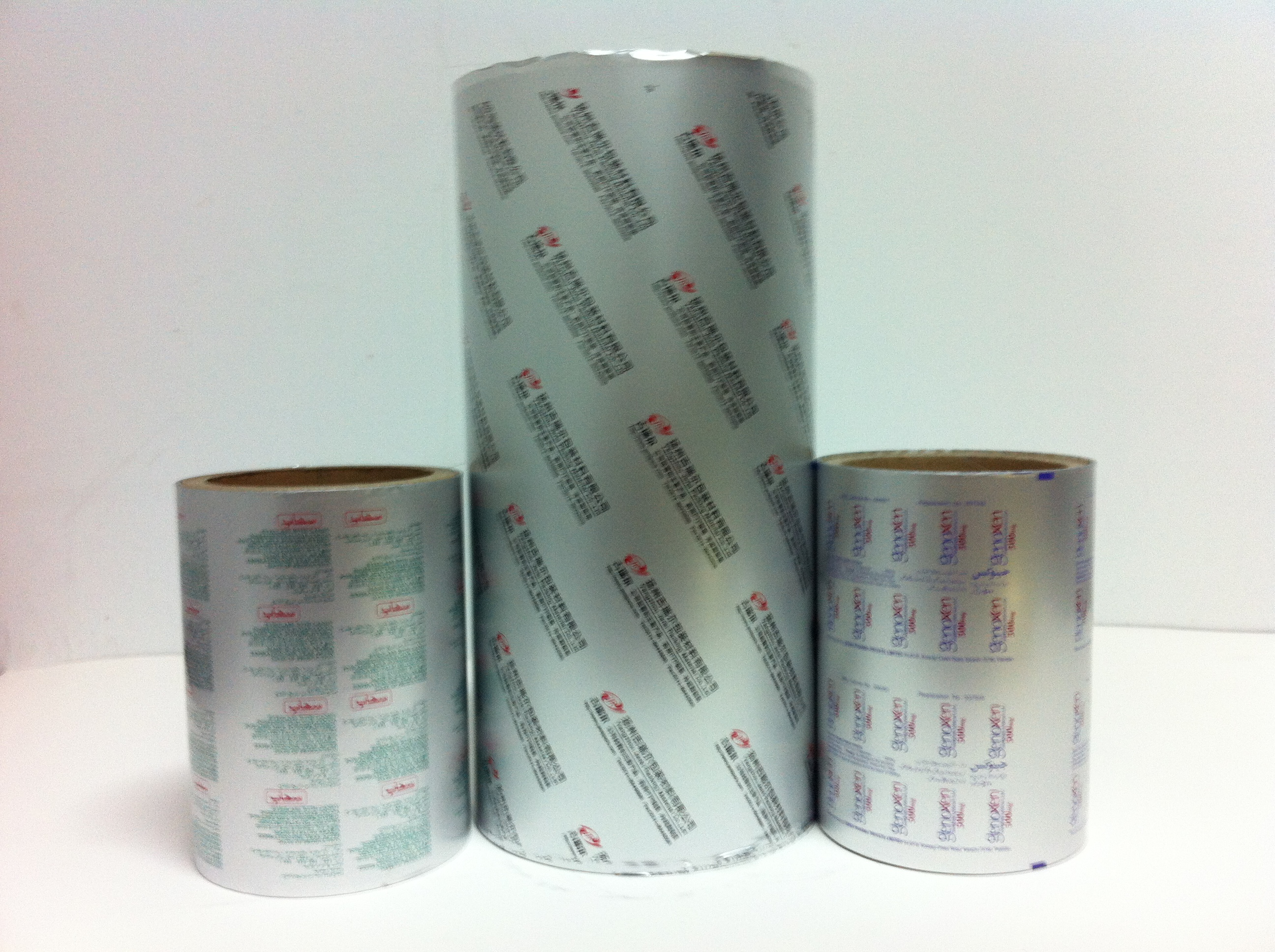 Aluminum Foil for Flexible Packaging with VC and OP