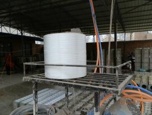 AR fiberglass mat for concrete