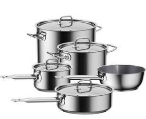 Stainless Steel Cookware 10pcs set