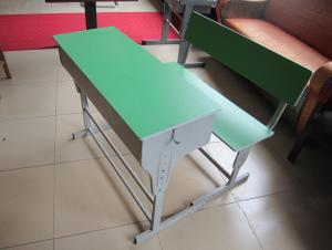 School desk and chair,double desk and chair