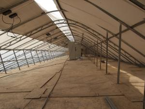 Solar agricultural greenhouses