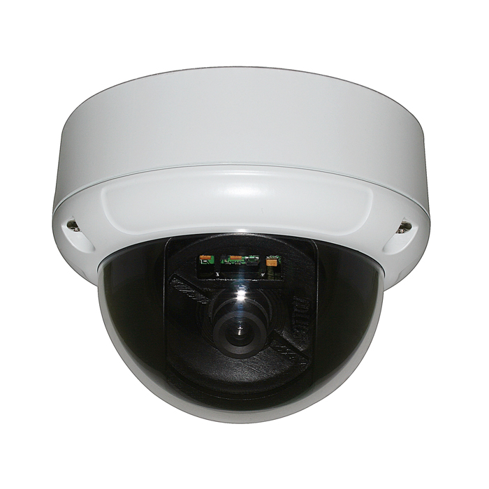 CCTV Camera Metal Dome Camera with 3.6mm Lens and Built-in 3-Axis Bracket