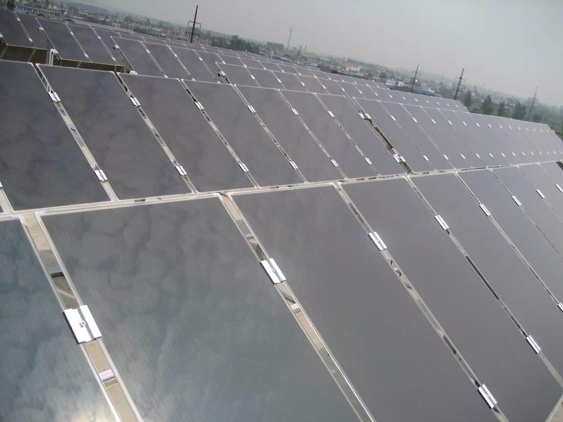 No border solar module