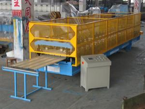 corrugated rubber sheet making machine