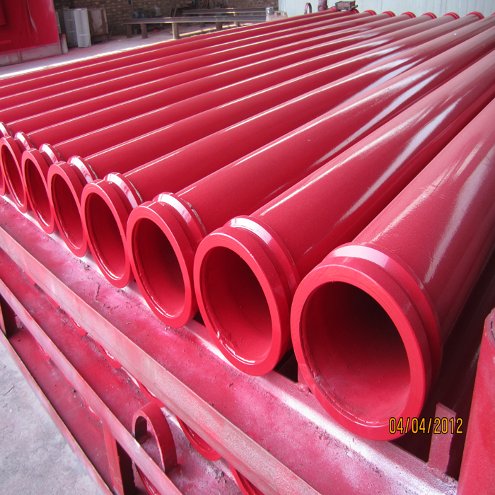 Concrete Pump Parts of straight Pipe of ST52