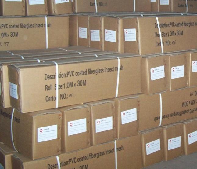 PVC Coated Fiberglass Screening Good Price