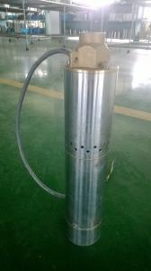 DC solar water  pump with helical screw