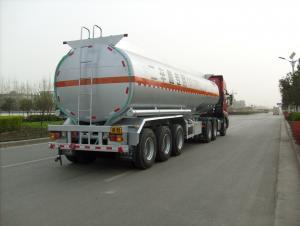 CIMC LINYU 46m3 fuel tanker semi trailer