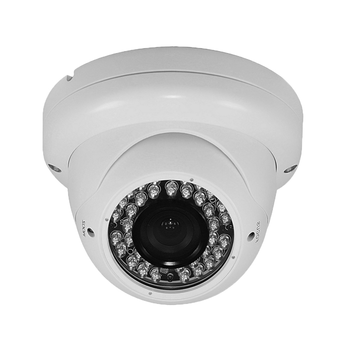 CCTV Camera 3.5 Metal Dome Camera with 36pcs Leds, BLC and AWB Function