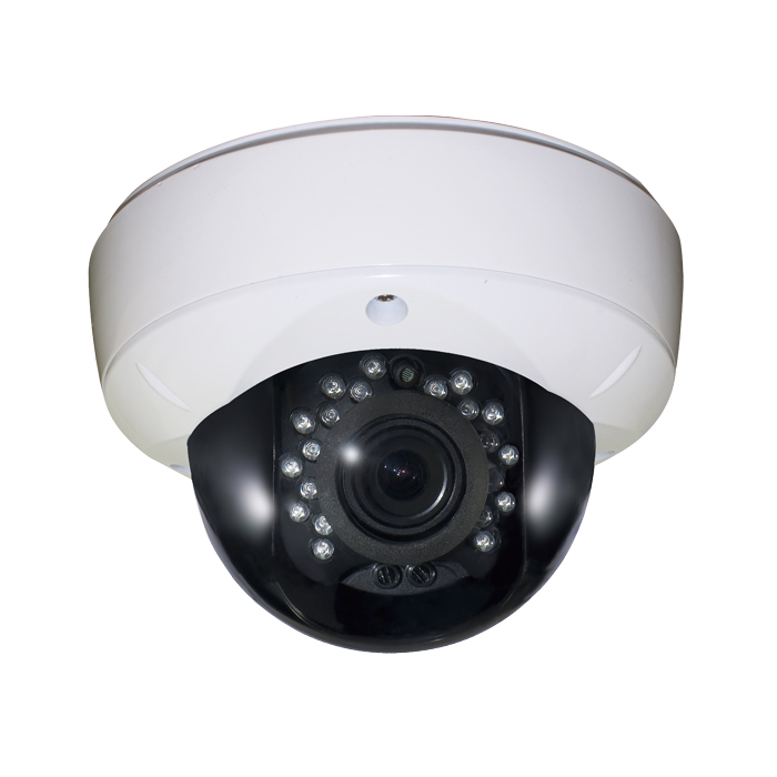 CCTV Camera Metal Dome Camera with 18pcs IR Leds with 20m IR Range